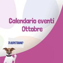 Notizie dal blog: Tutti gli eventi in programma ad Ottobre