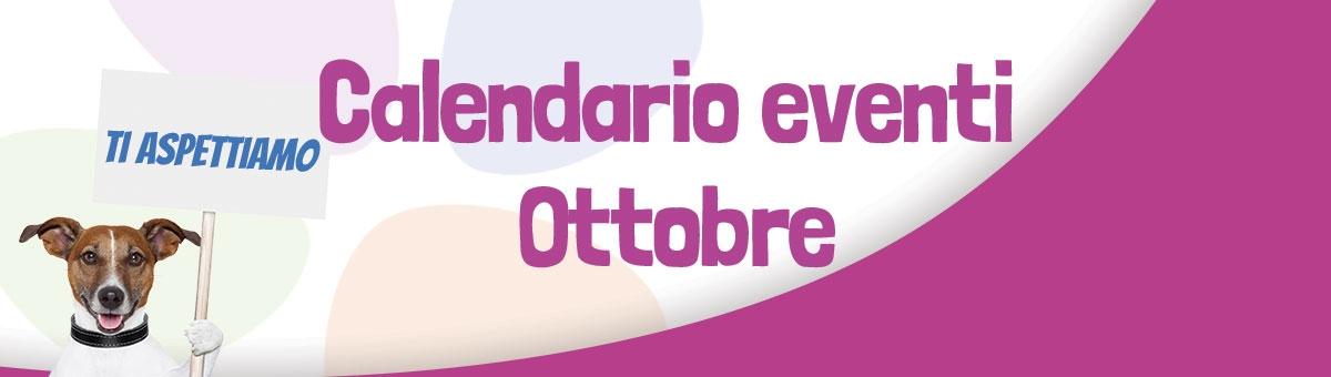Tutti gli eventi in programma ad Ottobre