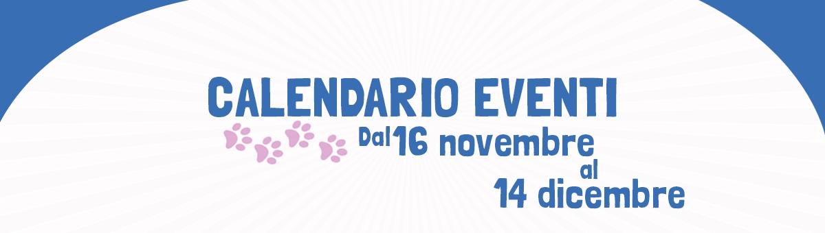 Tutti gli eventi fino al 14 dicembre