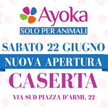 Notizie dal blog: Nuova apertura sabato 22 Giugno a Caserta