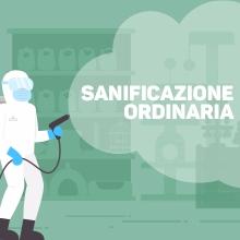 Notizie dal blog: Sanificazione ordinaria dei nostri locali