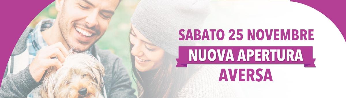 Nuova apertura - Sabato 25 novembre 2017 - Aversa