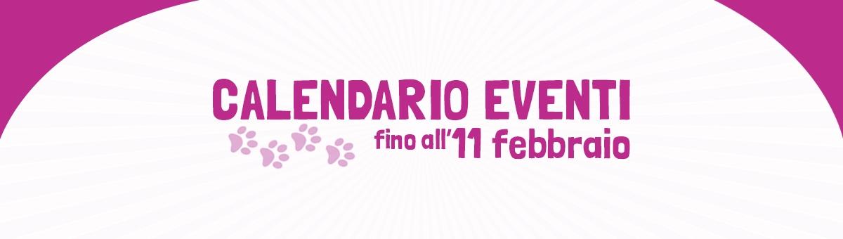 Eventi dal 1 al 11 Febbraio