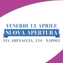 Notizie dal blog: Nuova Apertura - Venerdì 13 aprile 2018 - Napoli Arenaccia