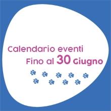 Notizie dal blog: Calendario eventi fino al 30 giugno